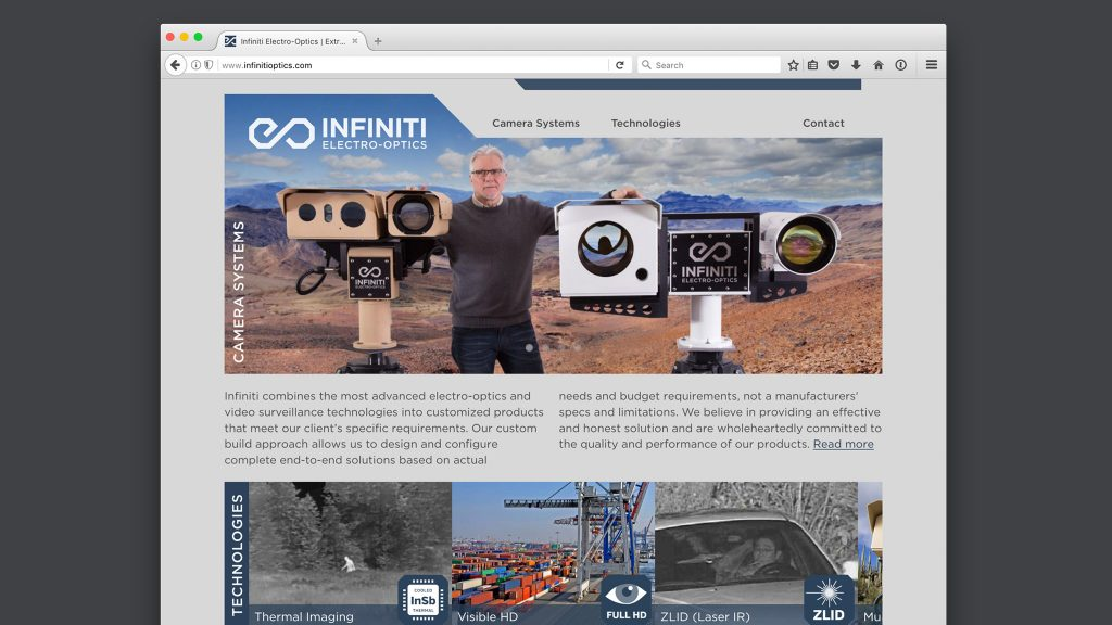 Infiniti Website Panel 2048